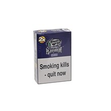 DOUBLE PLATINUM 2X INDIGO BLUNT WRAPS - 25 PACK