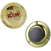 RAW ROUND MAGNETIC ASHTRAY