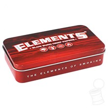 ELEMENTS TOBACCO TIN - RED