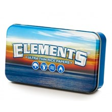 ELEMENTS TOBACCO TIN - BLUE