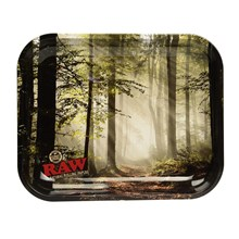 RAW MEDIUM ROLLING TRAY FOREST