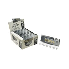 RIZLA SILVER KING SIZE COMBI PAPERS & TIPS - 24 PK