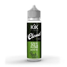 KIK CLOUD 50ML IN 60ML SHORTFILL - PEACH TWIST