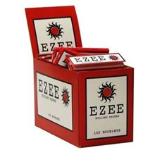 EZEE RED REGULAR SIZE PAPERS - 100 PACK