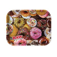 RAW - LARGE ROLLING TRAY - DONUT 34 X 28CM