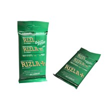 RIZLA GREEN REGULAR - FLOW PACK OF 5
