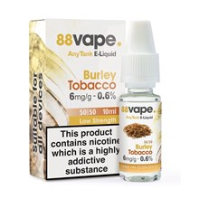 88 VAPE ANYTANK - 6MG BURLEY TOBACCO 10ML
