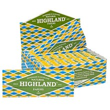 HIGHLAND - NATURAL PAPERS - 24 PACK