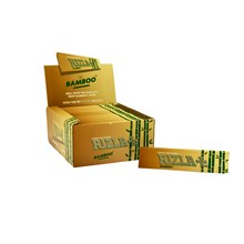 RIZLA BAMBOO KING SIZE SLIM PAPERS - 50 PACK