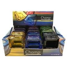 CHAMP - SMOKED GLASS ASHTRAY