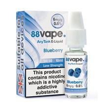 88 VAPE ANYTANK - 6MG BLUEBERRY 10ML