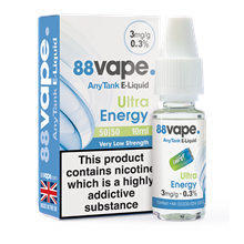 88 VAPE ANYTANK - 3MG ULTRA ENERGY 10ML