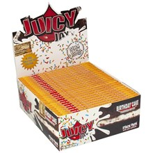 JUICY JAY'S KING SIZE PAPER - BIRTHDAY CAKE-24PACK