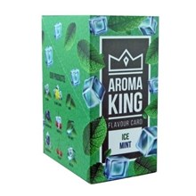 AROMA KING - FLAVOUR CARD - ICE MINT - 25 PACK