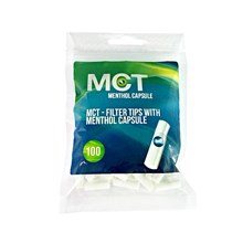 FRUTTA - CAPSULE FILTER TIPS - MCT MENTHOL-100PACK