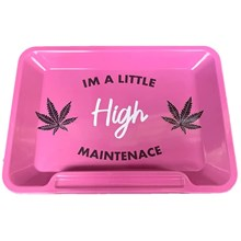 WISE SKIES HIGH MAINTENANCE PINK TRAY - SMALL