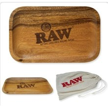 RAW - WOODEN ROLLING TRAY