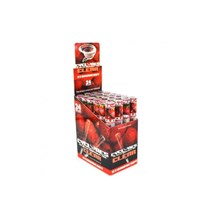 CLEAR CYCLONE CONES - STRAWBERRY - 24PACK