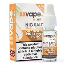 88 VAPE -18MG NIC SALT HIT ORANGE & PINEAPPLE-10ML