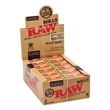 RAW - 5 METER CLASSIC ROLLS - 24 PACK