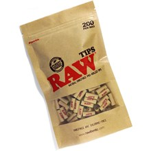 RAW - PRE-ROLLED TIPS - 200 PACK