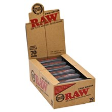RAW - 2-WAY ROLLER ADJUSTABLE 70MM - 12 PACK