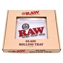 RAW - GLASS ROLLING TRAY