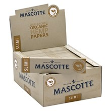 MASCOTTE ORGANIC KING SIZE SLIM PAPERS - 50 PACK