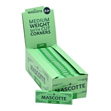 MASCOTTE GREEN CUT CORNERS PAPERS - 50 PACK