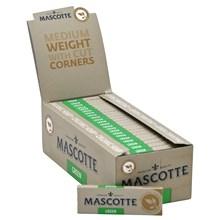 MASCOTTE ORGANIC GREEN CUT CORNERS PAPERS - 50PACK