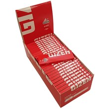 GIZEH FINE RED REGULAR PAPERS - 50 PACK