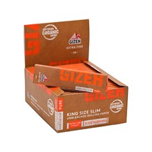 GIZEH PURE KING SIZE SLIM PAPERS - 50 PACK