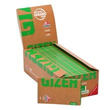 GIZEH PURE FINE ORGANIC HEMP PAPERS - 25 PACK