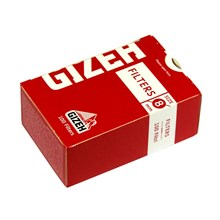 GIZEH - 8MM BOXED FILTER TIPS - 10 PACK