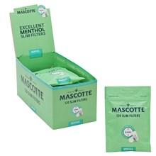 MASCOTTE-6MM SLIM MENTHOL FILTER TIPS 120-10PACK
