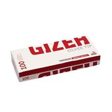 GIZEH - SILVER TIP TUBES - 10X100