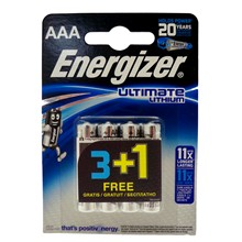 ENERGIZER AAA LITHIUM 3+1