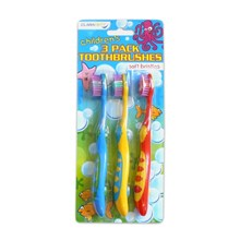CLARADENT - KIDS TOOTHBRUSHES - 3 PACK