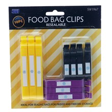 FOOD CLIPS 10PC SWL