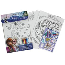 FROZEN COLOURING SET