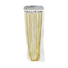 SWL - ALUMINIUM GLASSES CORD GOLD - 12 PACK