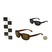 ADULT SUNGLASSES RUBBERISED FRAME 2ASSTD