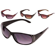 LADIES SUNGLASSES WITH GEMS 4ASSTD