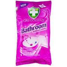 GREEN SHIELD - BATHROOM SURFACE WIPES - 70 WIPES