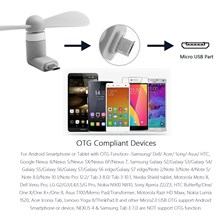 MINI USB FAN WHITE & ANDROID CONNECTOR