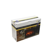 LYYT LED FLAME EFFECT FIREPLACE DISPLAY
