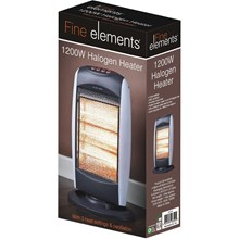 FINE ELEMENTS HALOGEN HEATER 1200W