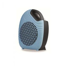 KINGAVON 2KW TWO TONE FAN HEATER BLACK & BLUE