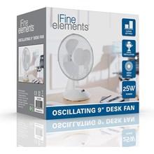 FINE ELEMENTS  - 9'' DESK FAN