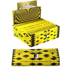 HEADQUARTER PAPERS COSMIC YELLOW & BLACK - 30 PACK